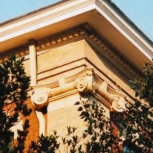 Ionic column on Winston Hall