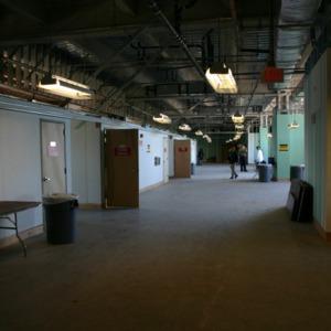 Carter-Finley Stadium, Vaughan Towers interior construction