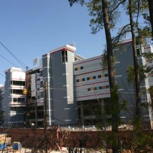 Carter-Finley Stadium, Vaughan Towers construction