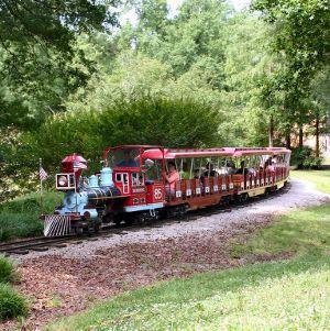 Pullen Park train
