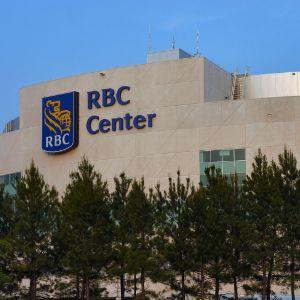RBC Center, exterior