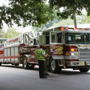 Firetrucks in Raleigh