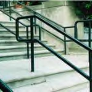 Railing in front of Hillsborough Building