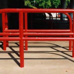 Reynolds Coliseum railing