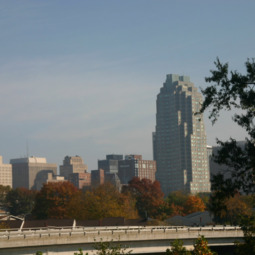 Raleigh skyline from Dix Hill