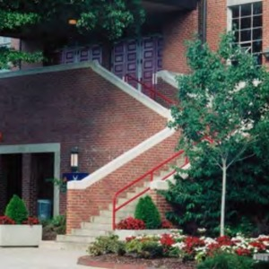 Reynolds Coliseum, entrance