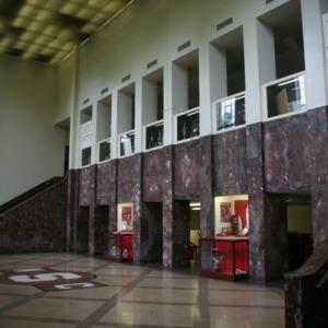 Reynolds Coliseum, interior lobby