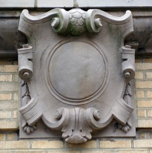Ricks Hall, ornamentation