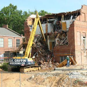 Morris Building demolition