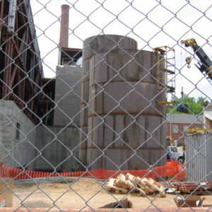 Yarborough Steam Plant construction site