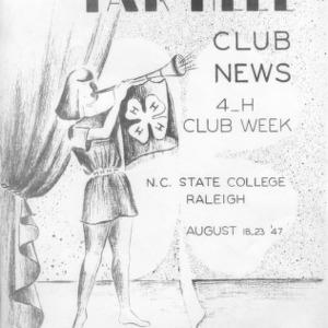 Tar heel club news. Vol. 10, no. 1. August 18, 1947