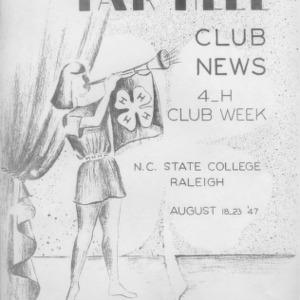 Tar heel club news. Vol. 10, no. 2. August 19, 1947