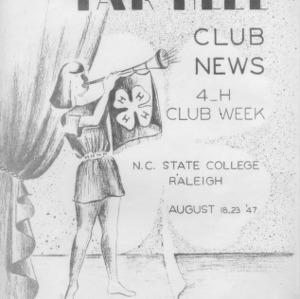 Tar heel club news. Vol. 10, no. 3. August 20, 1947
