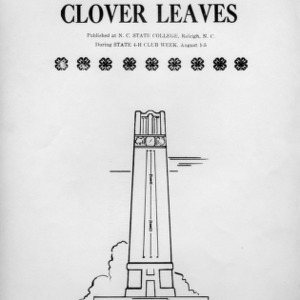 Clover leaves. Vol. 11, no. 1. August 2, 1949