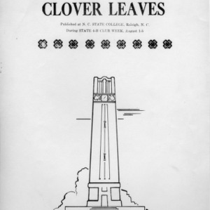 Clover leaves. Vol. 11, no. 2. August 3, 1949