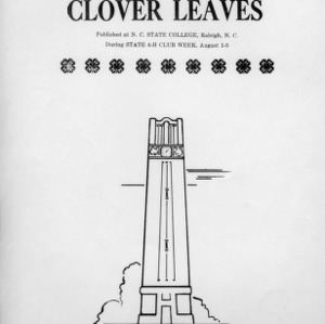 Clover leaves. Vol. 11, no. 3. August 4, 1949