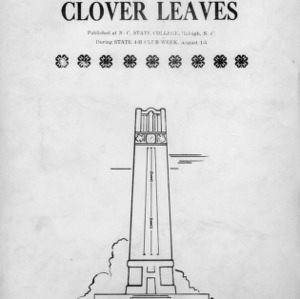 Clover leaves. Vol. 11, no. 4. August 5, 1949