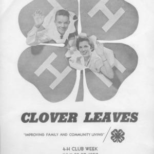 Clover leaves. Vol. 14. July 24, 1957