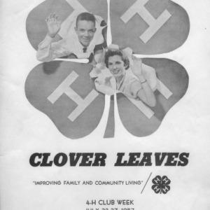 Clover leaves. Vol. 14. July 25, 1957