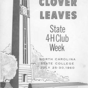 Clover leaves. July 27, 1960