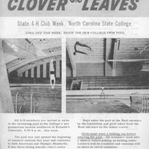 Clover leaves. July 24, 1961