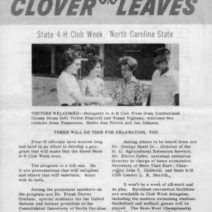 Clover leaves. July 22, 1963