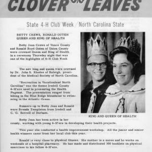 Clover leaves. July 26, 1963