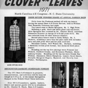 Clover leaves. July 29, 1971