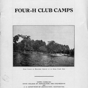 4-H club camps (Extension Circular No. 164)