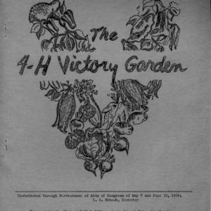 4-H victory garden