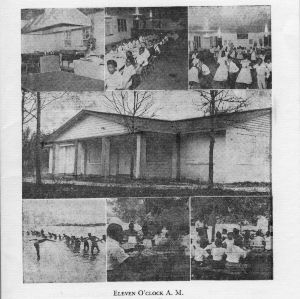 Dedication exercises, 4-H club camp