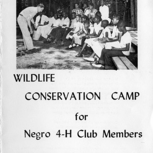 Twelfth-annual wildlife conservation camp for negro 4-H club members