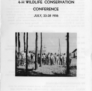 Fourteenth-annual 4-H wildlife conservation conference