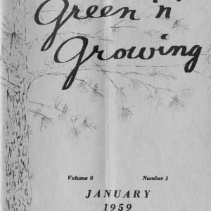 Green 'n' growing 5, no. 1