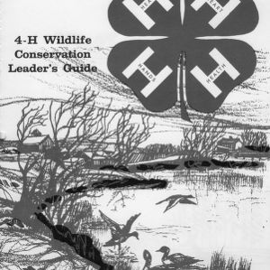 4-H wildlife conservation leader's guide