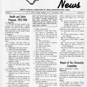 Home Demonstration news  vol. 1, no. 2