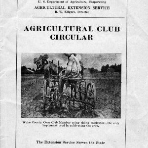Agricultural Club circular (Extension Circular No. 67)