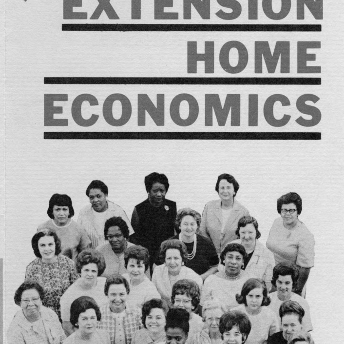 A professional choice . . . Extension Home Economics