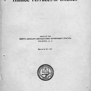 Hillside terraces or ditches (Bulletin No. 121)