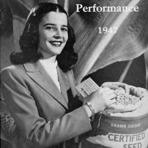 Measured crop performance, 1947