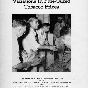 Variations in flue-cured tobacco prices (Technical Bulletin No. 69)