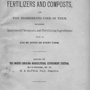 Home-made fertilizers and composts, and the ingredients used in them, including analyses of chemicals, and fertilizing ingredients such as can be saved on every farm