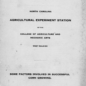 Some factors involved in successful corn growing (Bulletin 204)