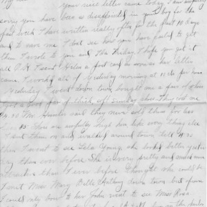 Letter from Azariah Graves Thompson, a student at North Carolina College of Agriculture and Mechanic Arts, to his mother, October 14, 1906