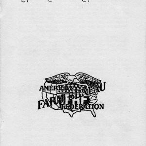 Constitution and by-laws, North Carolina Farm Bureau Federation, 1951