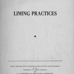 Liming practices (Extension Circular No. 264)