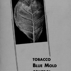 Tobacco blue mold control (Extension Circular No. 348 A)