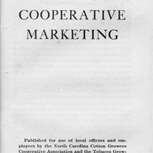 Handbook on cooperative marketing