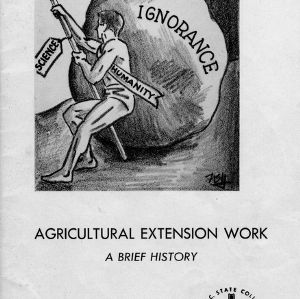 Agricultural Extension work: A brief history (Extension Circular No. 377)