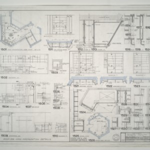 Duke Primate Facility -- Food Preparation Area Plan, Office Details